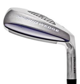 The Perfect Club Hybrid Wedge is made like a hybrid golf club