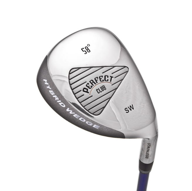 The Perfect Club Hybrid Golf Sand and Lob wedge