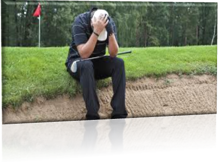 The Perfect frusterated golfer