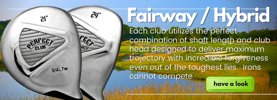 Best fairway and hybrid club for golfers who struggle with mid to long irons.