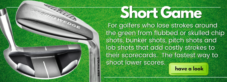 Take the Fear out of Your Chipping and Bunker Play Forever with The Perfect Club Short Game