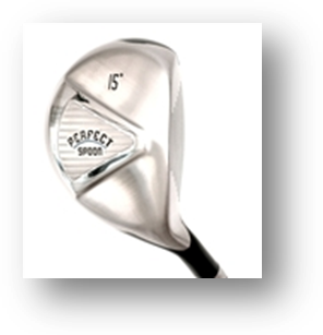 The Perfect Club Spoon 3 wood golf club